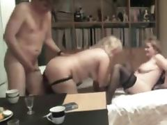 two horny amateur matures and her lover tube porn video
