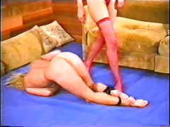 Alecia Ames Vs Brunette Catfight tube porn video