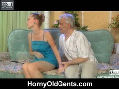 Cecilia and Caspar girl and oldman tube porn video