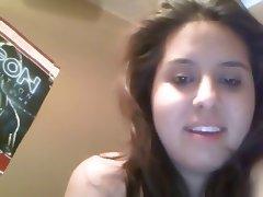 Chubby Latina Hairy Pussy Masturbating On Webcam tube porn video