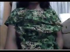 Malay Busty MILF Cam tube porn video