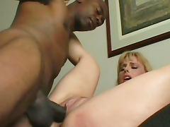 Darryl Hanah and black dick of Sean Michaels tube porn video