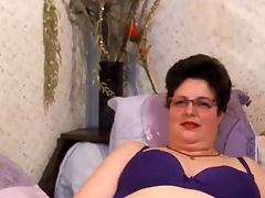 BBW Mature4u Hairy tube porn video
