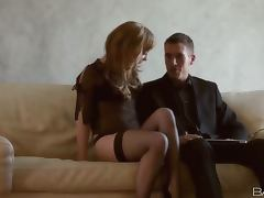 Business meeting reaches the success with Dani Jensen tube porn video