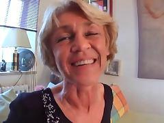 Granny POV tube porn video