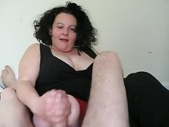 Big tits double amputee working cock to a climax with stumps tube porn video