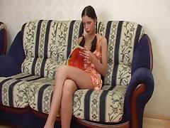 Russian Threesome tube porn video