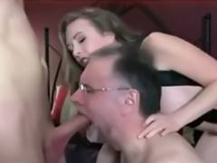 Spouse takes orders from domina and sucks dong tube porn video