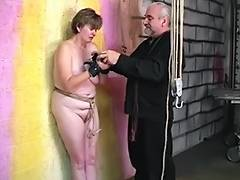 Thick big beautiful woman dark brown acquires cum hole abased with hook and booty spanked red tube porn video