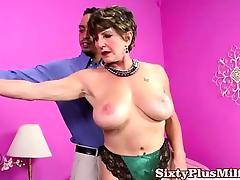 Hot big tit granny pornstar tube porn video