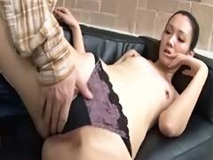A lengthy tall beauty and a short dude tube porn video