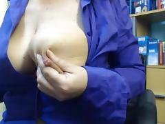 Big nipple play tube porn video