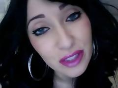 Lipstick videos. Fascinating women with juicy lipstick easily find fuckmates for hard fucking