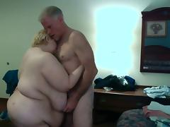 Saggy Huge Titties getting Slapped my Cock While Standing tube porn video