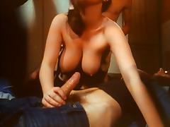Classic British 70's FMM threesome tube porn video