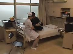 Kinky horny nurse enjoys hardcore Japanese fucking tube porn video