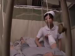 Asian nurse rides her patient's dick in spy cam sex video tube porn video