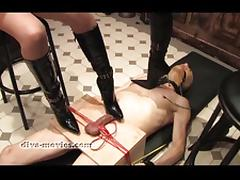 Tied-and-trampled-by-two-dark-mistresses tube porn video
