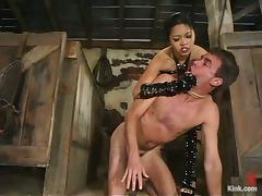 Rope Bondage and Pegging in Femdom with Asian Mika Tan tube porn video