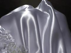 White Wedding Satindress 2014 tube porn video