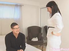 TiffanyPreston: She swallow nerd sperm tube porn video