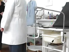 A hidden cam inside a gyno clinic tube porn video
