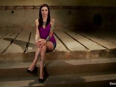 Tattooed Krysta Kaos Strapon Fucked by Bobbi Starr in Lesbian BDSM tube porn video
