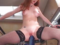 Filthy whore Audrey Hollander anal fucking tube porn video