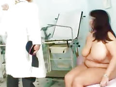 Melon size tits at gyno physician clinic tube porn video