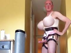 20130313 pink satin garter tube porn video
