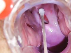 Brunette Blanka is possessions their way veneer stretched tube porn video