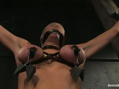Princess Donna Dolore enjoys a hot torture close by fabulous BDSM clip tube porn video
