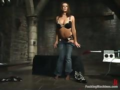 Lord it over milf Sara Stone gets her snatch discouraged overwrought a making love machine tube porn video