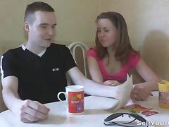 Fucking girlfriend for cash bonus tube porn video