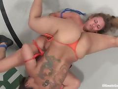 Twosome horny chicks have wild homo sex give a blast tube porn video