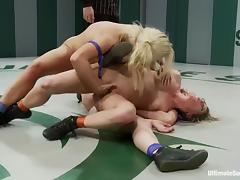 Amazing catfight personate ends with wild homo sex tube porn video