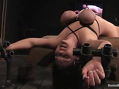 Claire Dames gets an unexpected orgasm while being tormented tube porn video