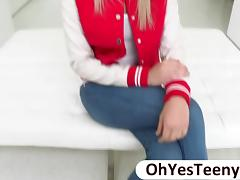 Euro teen Zoey sexual confronts big cock tube porn video