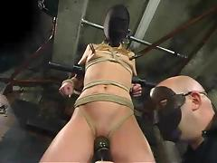 Everything was prepared to torture Kelly Wells tube porn video