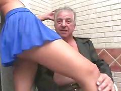 Young whore makes grandpa feel more alive than ever tube porn video