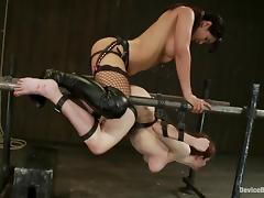 Iona Grace gets unforgettably fucked by Isis Love in BDSM clip tube porn video
