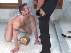 Tyler Saint gets humiliated and fucked by a policeman tube porn video