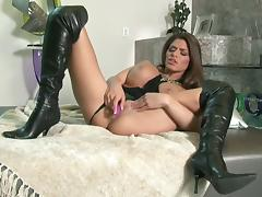 Madelyn Marie is horny as hell and tube porn video