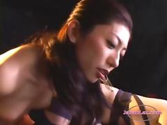 Asian Slave Girls With a Strapon By their Mistress tube porn video