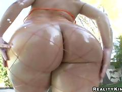 Scrumptious Katja Kassin Puts Oil On Her Body Before Being Ass Fucked tube porn video
