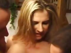French Threesome and the genitals drill the holes tube porn video