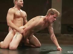 Stunning Trent Diesel Gets Fucked By Colby Jansen After Wrestling tube porn video