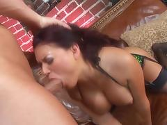 here is a super hot vixen Eva Angelina and she wants it big tube porn video