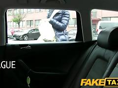 FakeTaxi: Randy golden-haired mother i'd like to fuck likes the 10-Pounder tube porn video