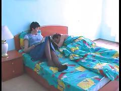 Older Mommy Copulates Youthful Boy-Friend tube porn video